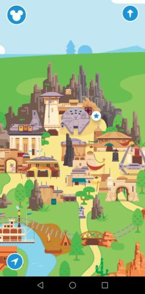 Black Spire Outpost en la aplicación Play Disney Parks